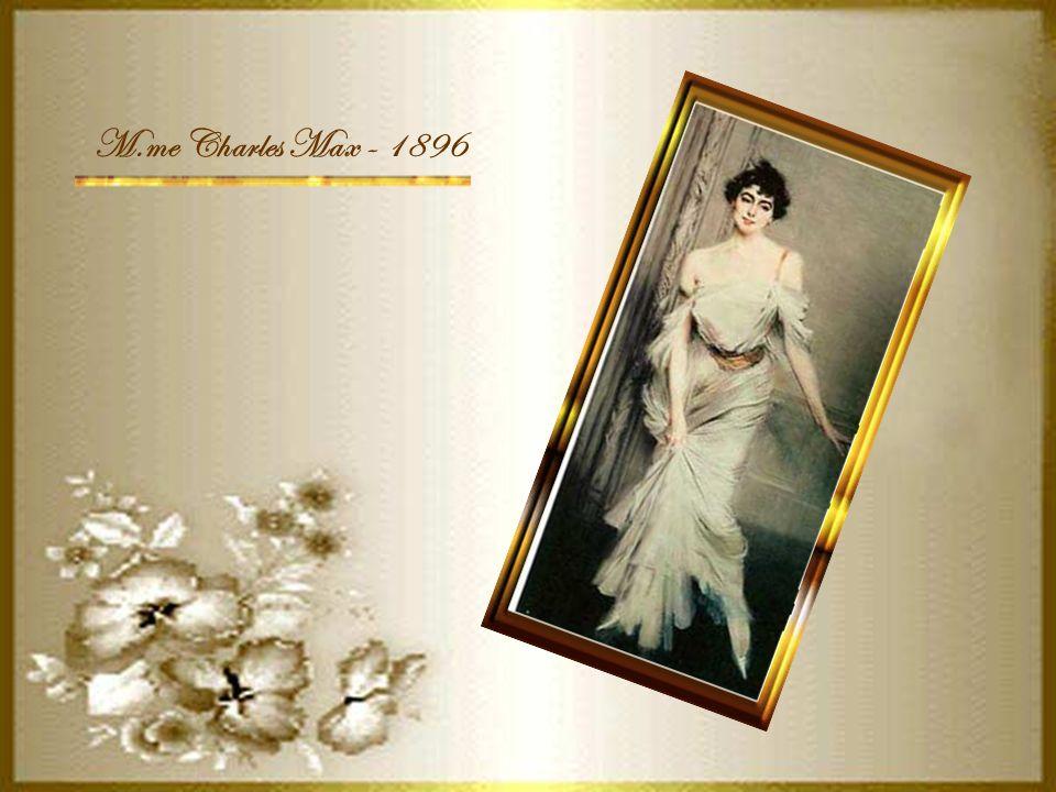 M.me Charles Max - 1896