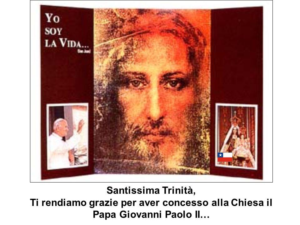 GIOVANNI PAOLO II PREGHIERA PER IMPLORARE GRAZIE PER LINTERCESSIONE DEL SERVO DI DIO PAPA GIOVANNI PAOLO II.