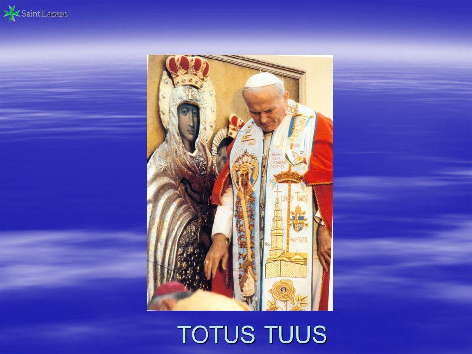 Dedicato al Beato Giovanni Paolo II dai Cavalieri di San Lazzaro diGerusalemme 1° maggio 2011 (Il Gran Priore dItalia) Giovanni Ferrara
