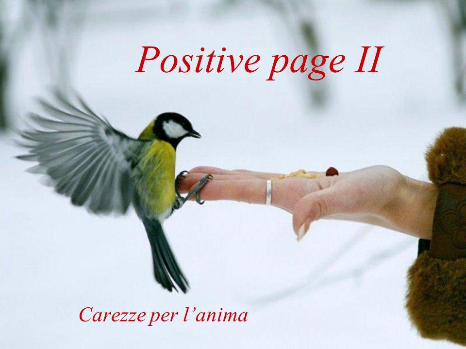 Positive page II Carezze per lanima