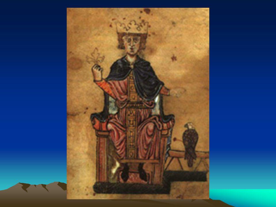 Federico II Ha suscitato giudizi contrastanti sia tra i suoi contemporanei sia tra gli storici moderni 35 anni di regno (1215-1250) Re dei preti e martello della Chiesa Sultano battezzato e difensore della cristianità Stupor mundi