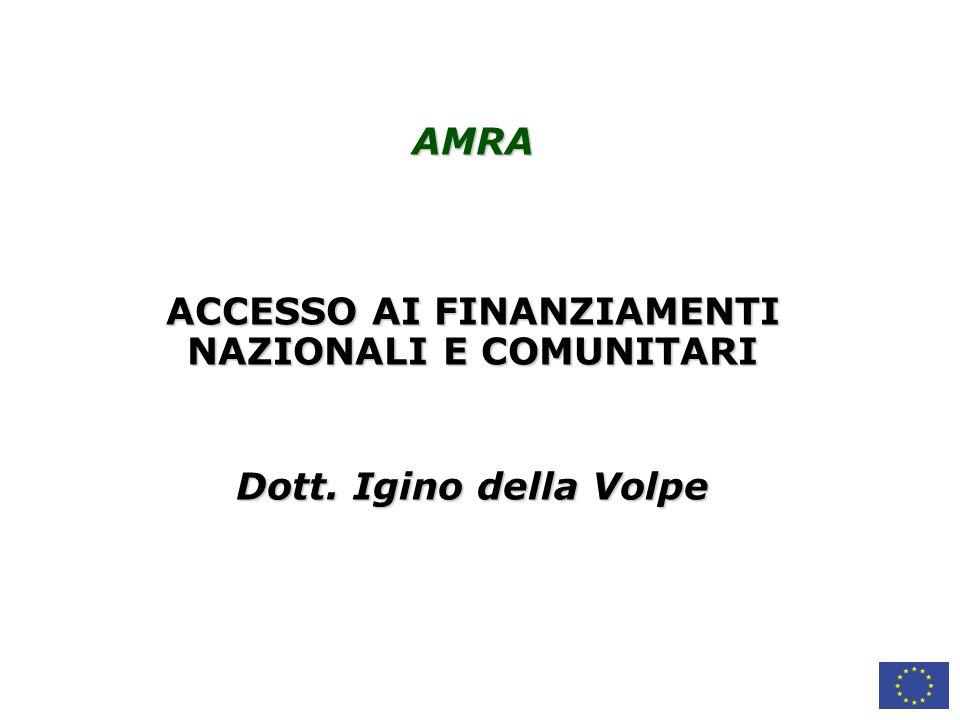 4.FINANZIAMENTI ALLA RICERCA 4.1. FINANZIAMENTI DIRETTI E INDIRETTI 4.2.
