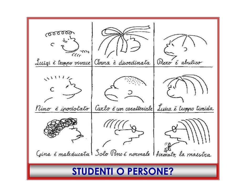 STUDENTI O PERSONE?