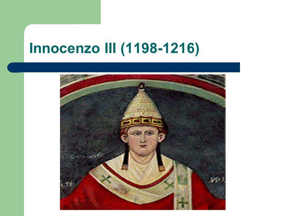 Innocenzo III (1198-1216)