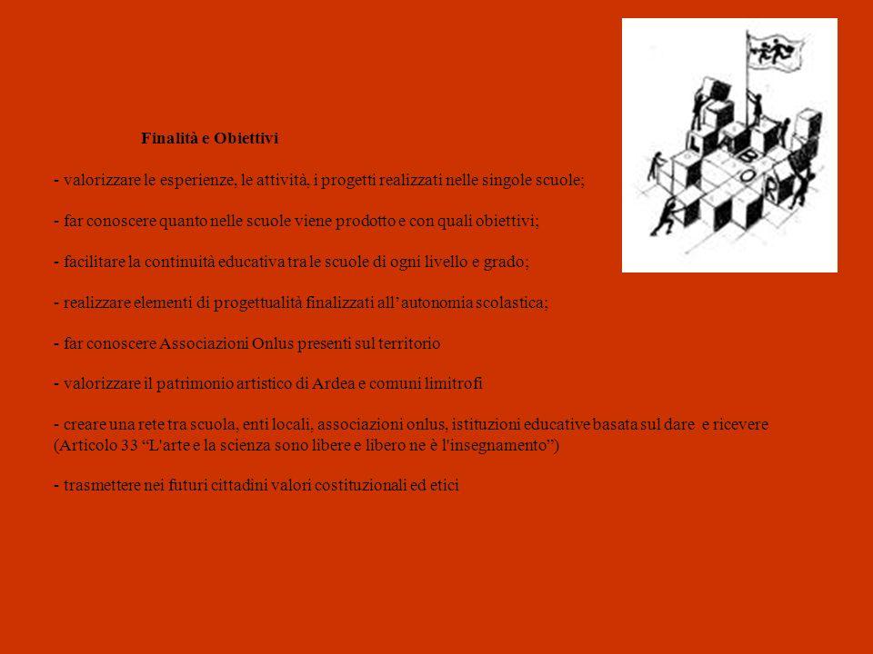 Finalità e Obiettivi - valorizzare le esperienze, le attività, i progetti realizzati nelle singole scuole; - far conoscere quanto nelle scuole viene p