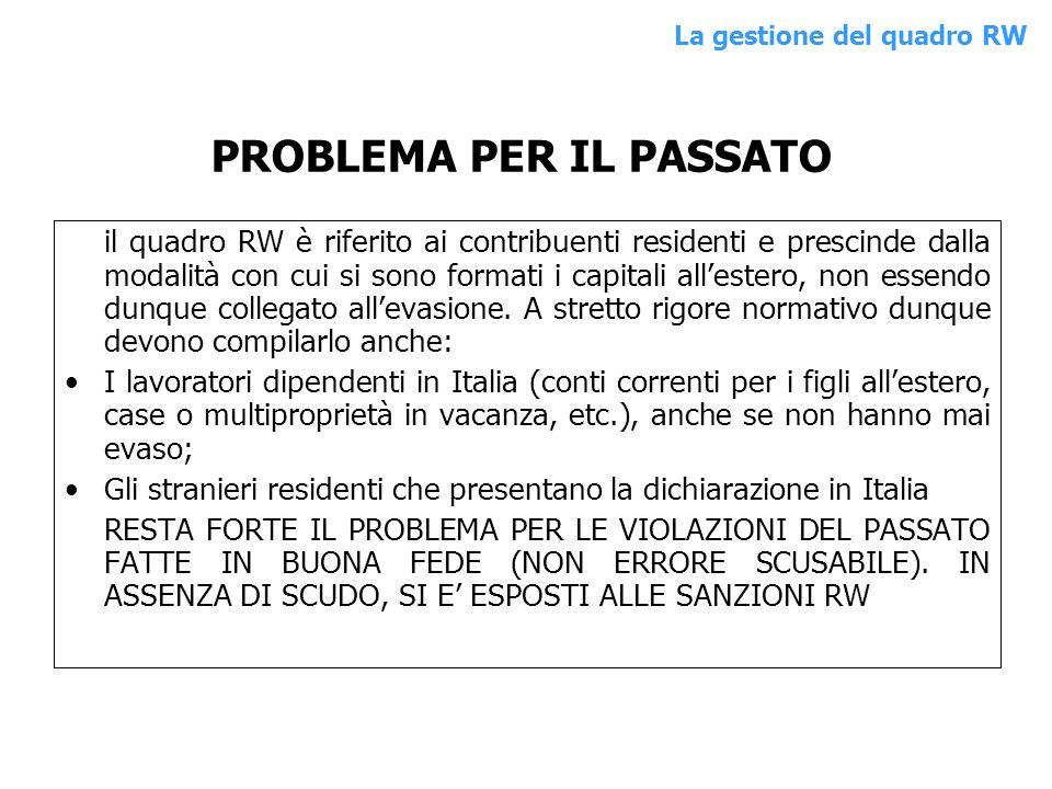 esempio 8: genitore con disponibilità del conto allestero e invio di 24 mila euro al figlio.