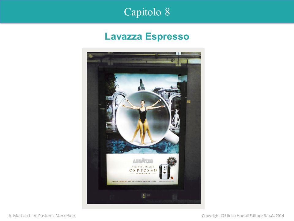 Capitolo 8 A. Mattiacci - A. Pastore, Marketing Copyright © Ulrico Hoepli Editore S.p.A. 2014 Capitolo 5 Analisi dellofferta Lavazza Espresso