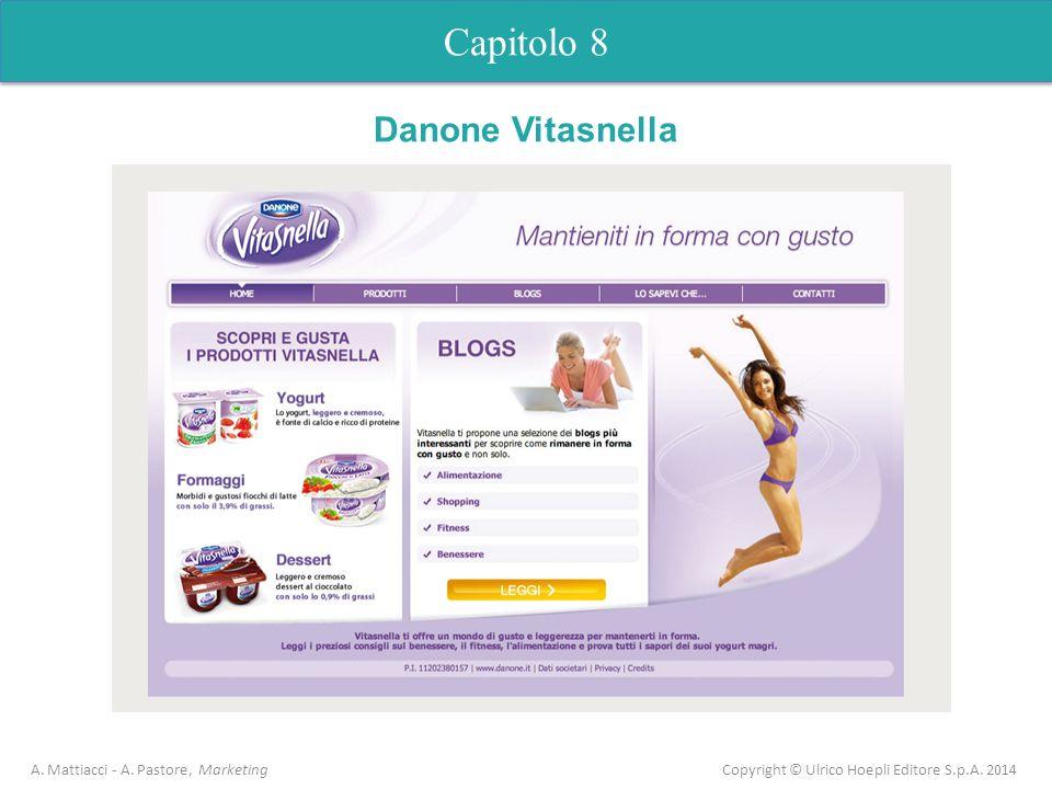 Capitolo 8 A. Mattiacci - A. Pastore, Marketing Copyright © Ulrico Hoepli Editore S.p.A. 2014 Danone Vitasnella