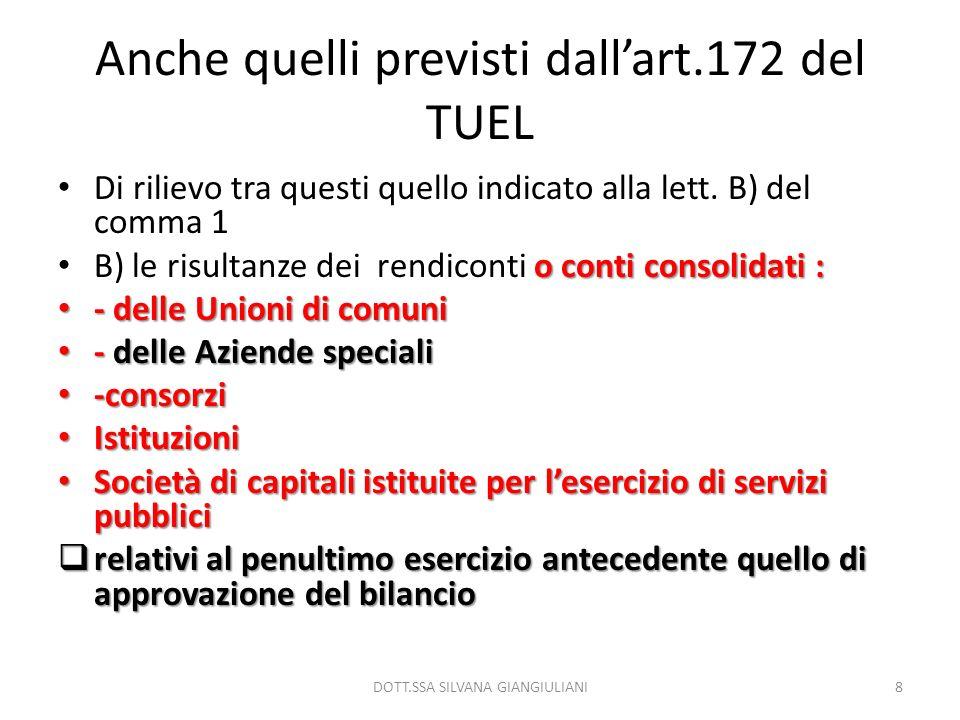 La legge sul federalismo fiscale ( ricaduta per gli ee.ll.) mancano i decreti attuativi.