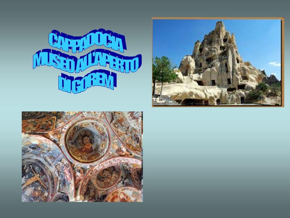 6° GIORNO: CAPPADOCIA Intera giornata dedicata alla visita di questa regione. La Cappadocia presenta diversi elementi di attrazione: Il suo fantastico