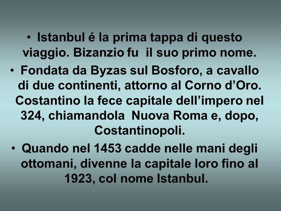 1° GIORNO: ITALIA/ISTANBUL Incontro dei partecipanti presso il banco 3A Tours dellaeroporto Leonardo da Vinci di Fiumicino. Disbrigo delle formalità d