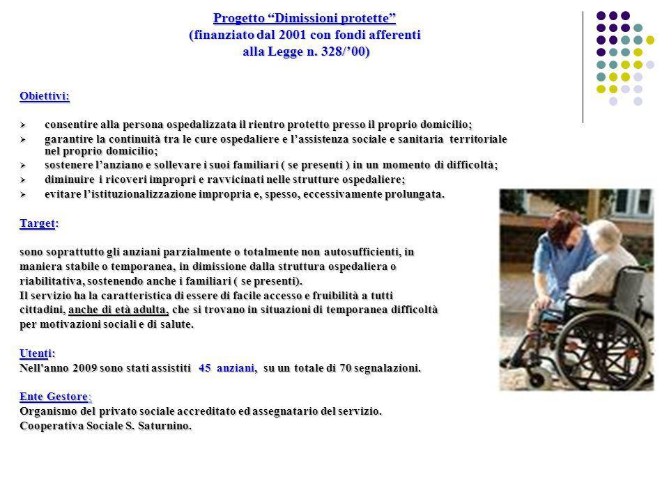 Progetto Attendere protetti (finanziato con fondi afferenti alla Legge n.