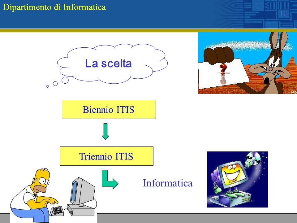 Biennio ITIS Triennio ITIS La scelta Informatica