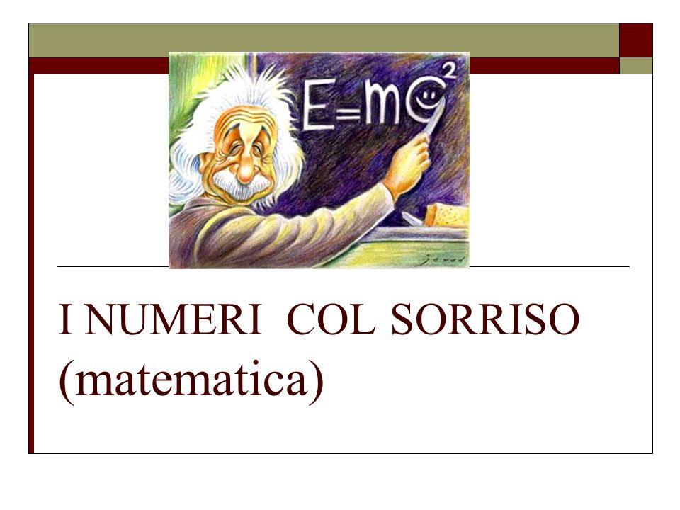 I NUMERI COL SORRISO (matematica)