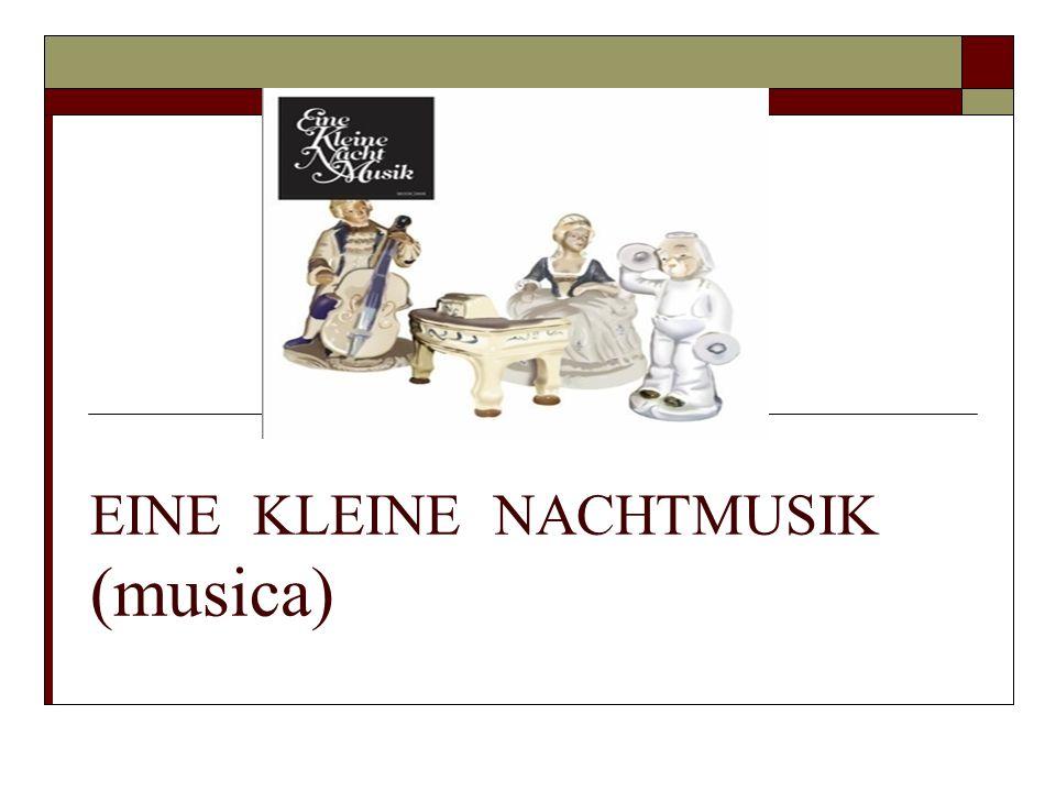 EINE KLEINE NACHTMUSIK (musica)
