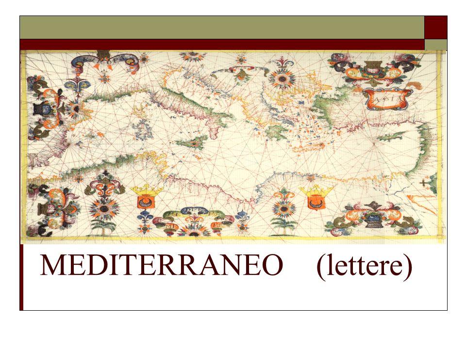 MEDITERRANEO (lettere)