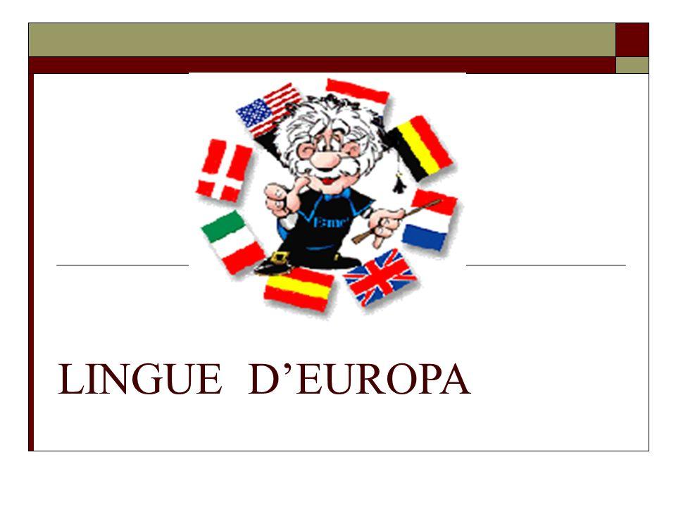 LINGUE DEUROPA