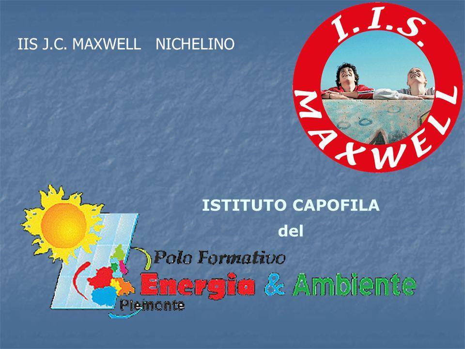 ISTITUTO CAPOFILA del IIS J.C. MAXWELL NICHELINO