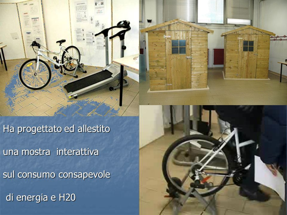 LA PALA EOLICA Dispone di spazi e attrezzature per lo studio di vari tipi di per lo studio di vari tipi di energia alternativa