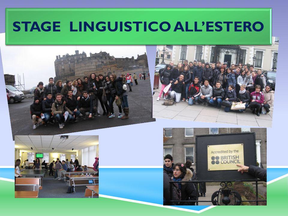 STAGE LINGUISTICO ALLESTERO