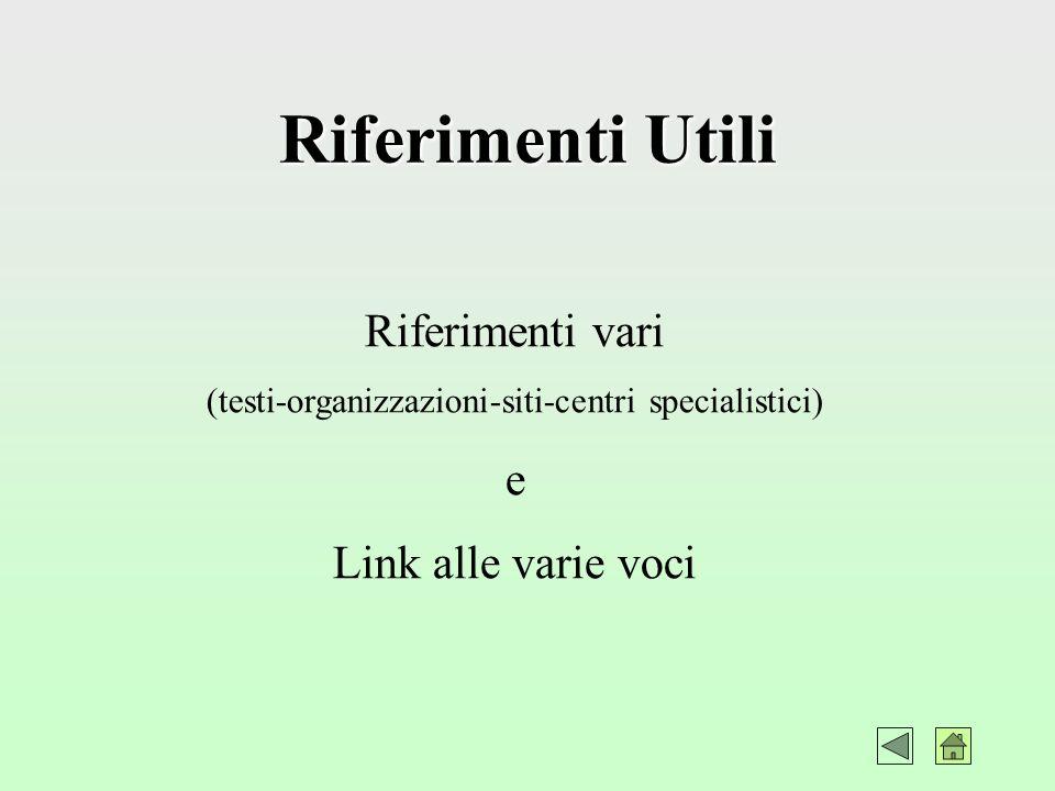 Aspetti Etici e Sociali Schematizzazioni (norme-religioni-costumi-Italia-Estero) e Link alle varie voci