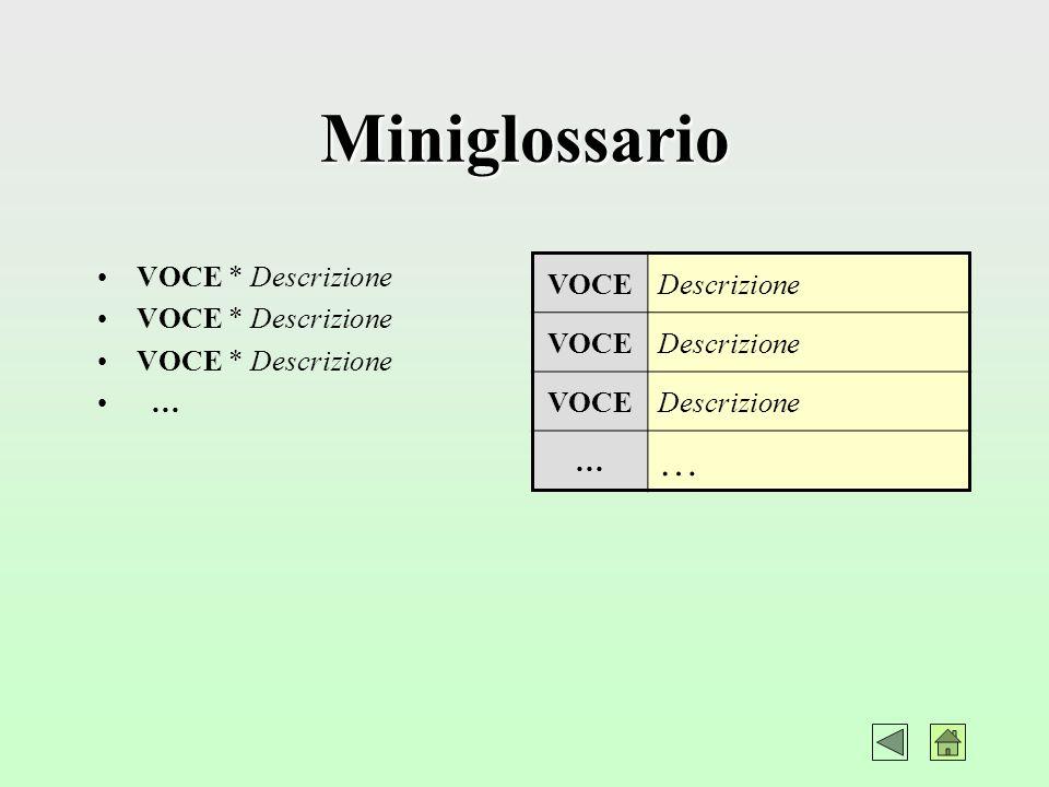 Riferimenti Utili Riferimenti vari (testi-organizzazioni-siti-centri specialistici) e Link alle varie voci