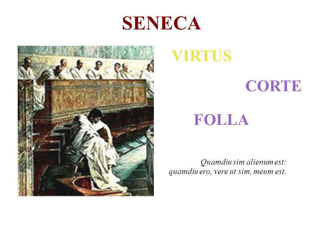 ...si per dies noctesque par et aequalis animi tenor erecti et placentis sibi est, pervenisti ad humani boni summam.