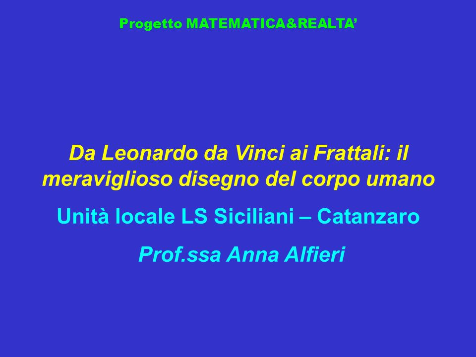 Progetto MATEMATICA&REALTA Sezione Avanzata Secondo Classificato 100,00 euro A83B52Z4 LS Leonardo, Giarre
