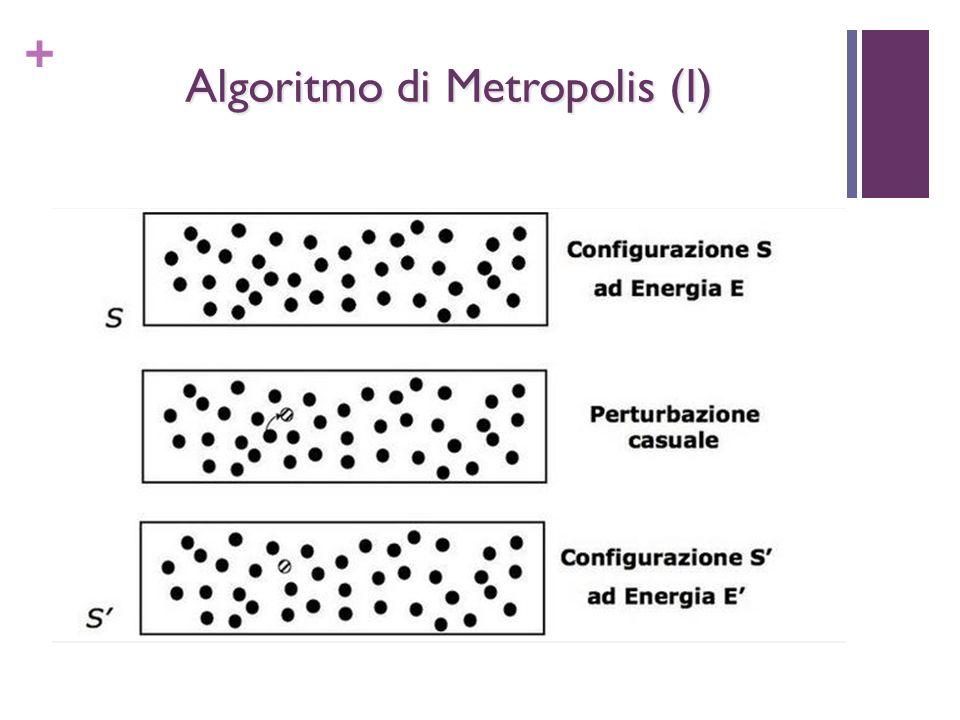 + Algoritmo di Metropolis (I)