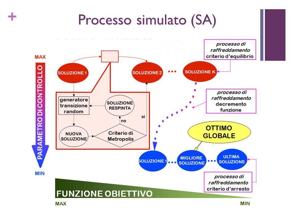 + Processo simulato (SA)
