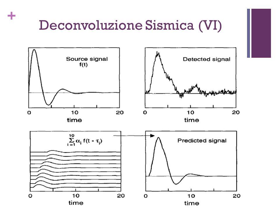 + Deconvoluzione Sismica (VI)