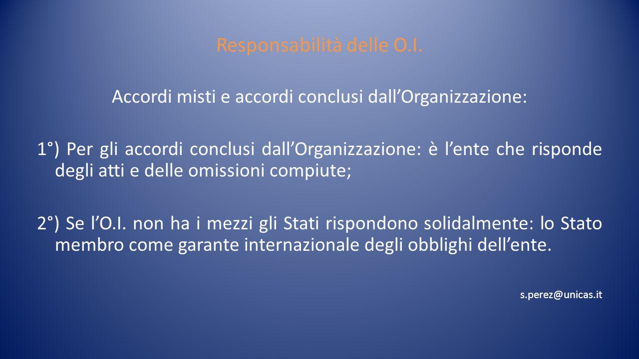 Giurisprudenza in materia Caso Soc.Maclaine Wetson: Consiglio Int.