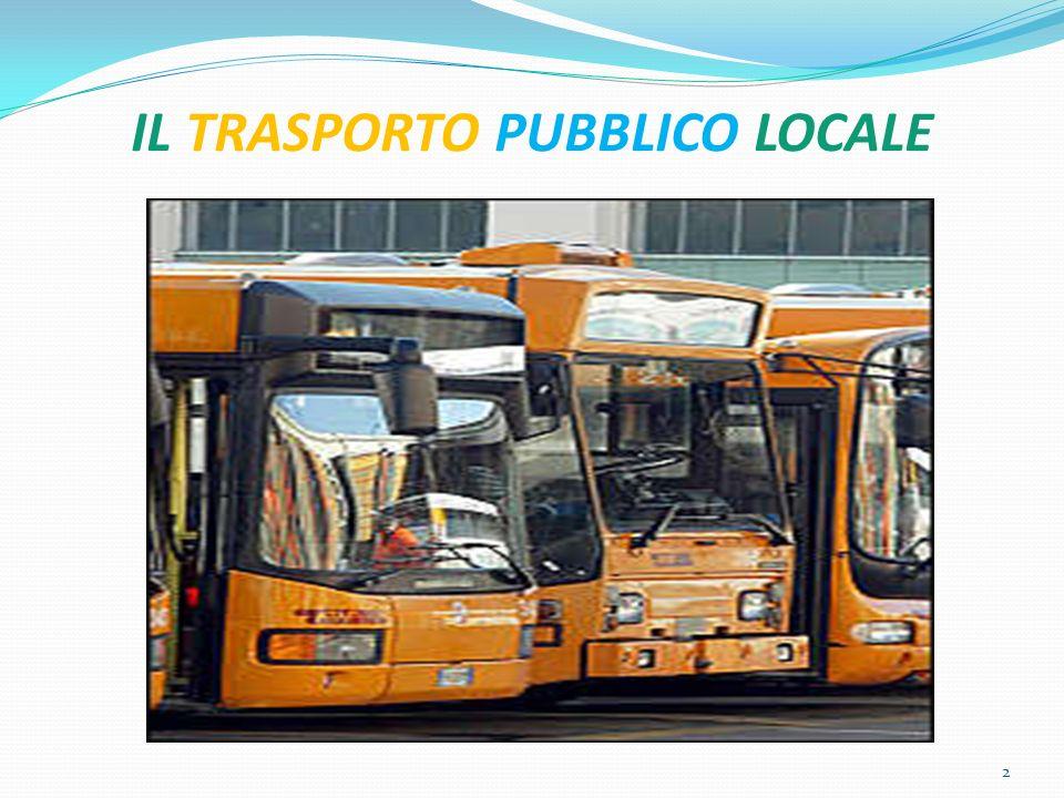 IL TRASPORTO PUBBLICO LOCALE 43