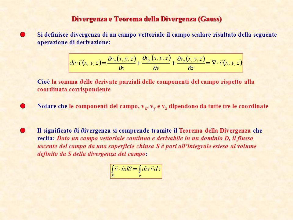 Le linee di flusso del gradiente sono perpendicolari alle superfici di livello Lintegrale di linea del gradiente è indipendente dalla linea Ne segue c