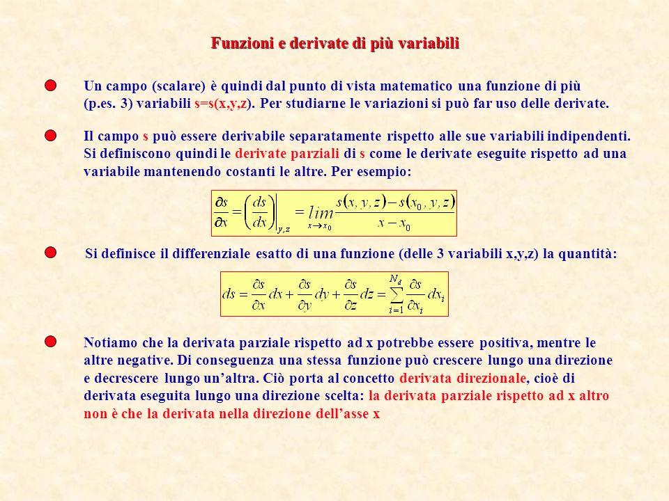 Il concetto di campo è utile per studiare fenomeni fisici, poiché se si è in grado di studiarne le variazioni nello spazio e nel tempo mediante opport