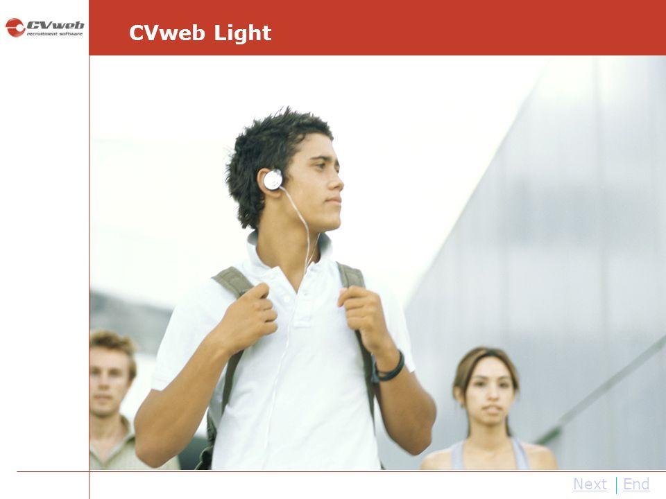 NextEnd CVweb Light