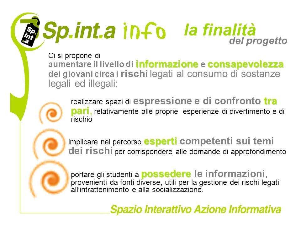 possedere portare gli studenti a possedere le informazioni, provenienti da fonti diverse, utili per la gestione dei rischi legati allintrattenimento e