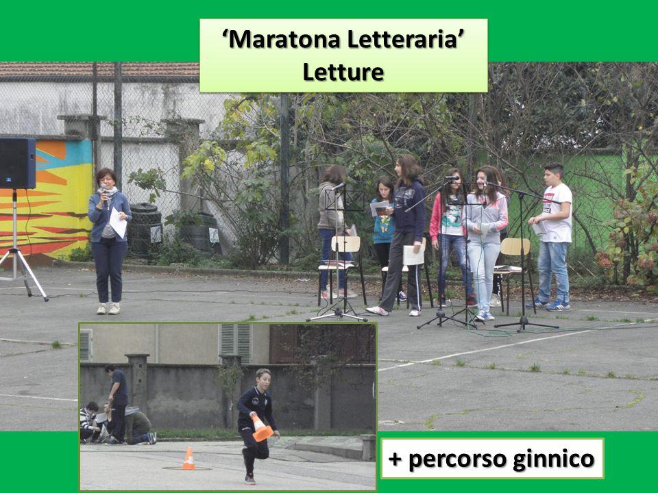 Maratona Letteraria Letture Letture + percorso ginnico