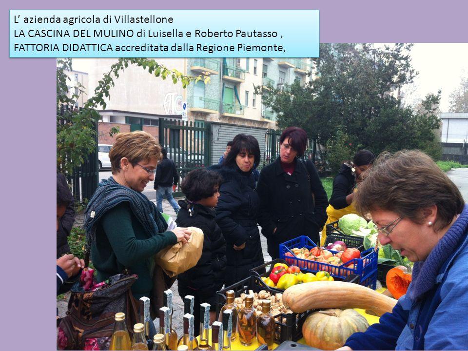 L azienda agricola di Villastellone LA CASCINA DEL MULINO di Luisella e Roberto Pautasso, FATTORIA DIDATTICA accreditata dalla Regione Piemonte, L azi