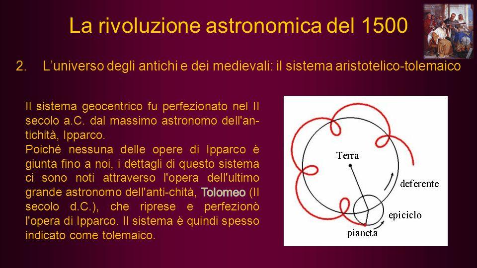 5.Keplero: eliocentrismo e orbite ellittiche (Johannes Kepler, Weil der Stadt, 27 dicembre 1571 – Ratisbona, 15 novembre 1630) Sistema solare secondo Keplero nel Mysterium Cosmographicum (1596).