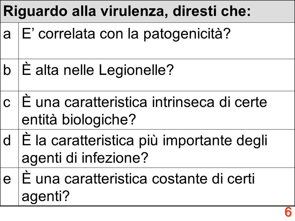 5 A proposito dei Gram positivi, diresti che: aResistono al lisozima? bAl Gram, appaiono violetti? cSono acido-alcool resistenti? dSintetizzano lLPS?