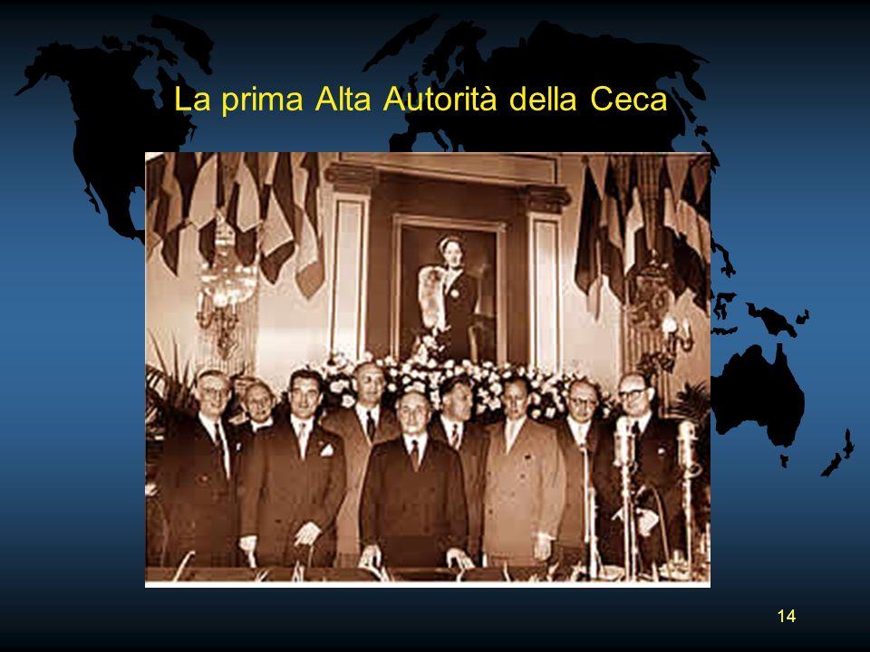 14 La prima Alta Autorità della Ceca