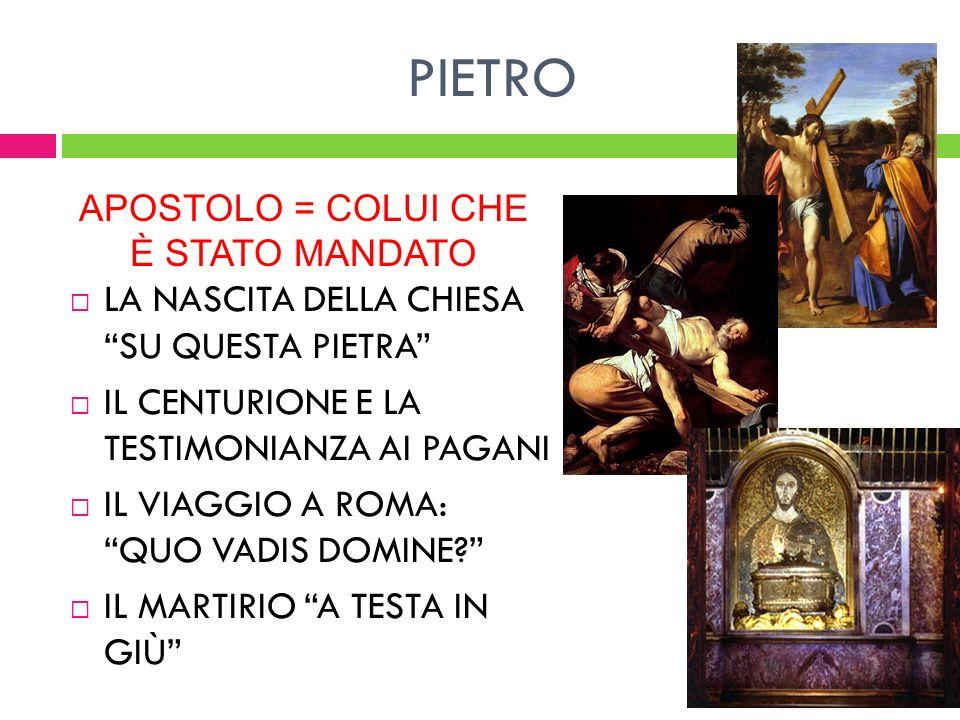PAOLO: LAPOSTOLO DELLE GENTI SAULO PERSEGUITA I CRISTIANI E PARTECIPA AL MARTIRIO DI S.