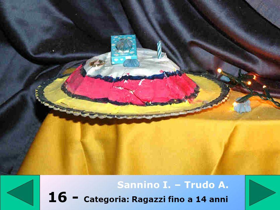 15 - Categoria: PRESEPE TRADIZIONALE Giancola Dora