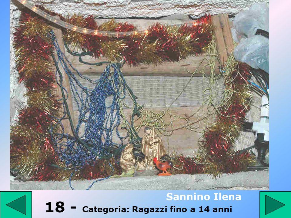 17 - Categoria: Ragazzi fino a 14 anni III D Scuola Giovanni XXIII