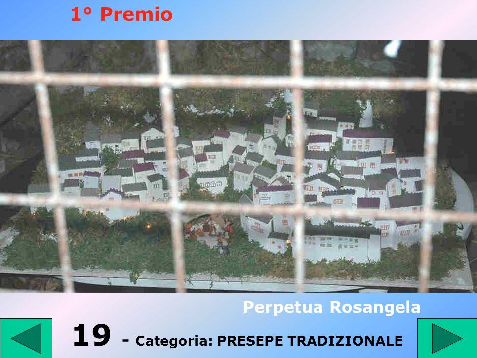 18 - Categoria: Ragazzi fino a 14 anni Sannino Ilena