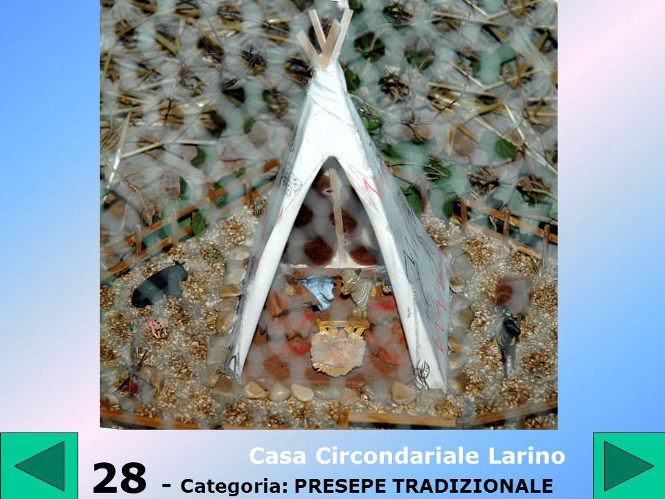 27 - Categoria: PRESEPE TRADIZIONALE Scuola professionale Campomarino