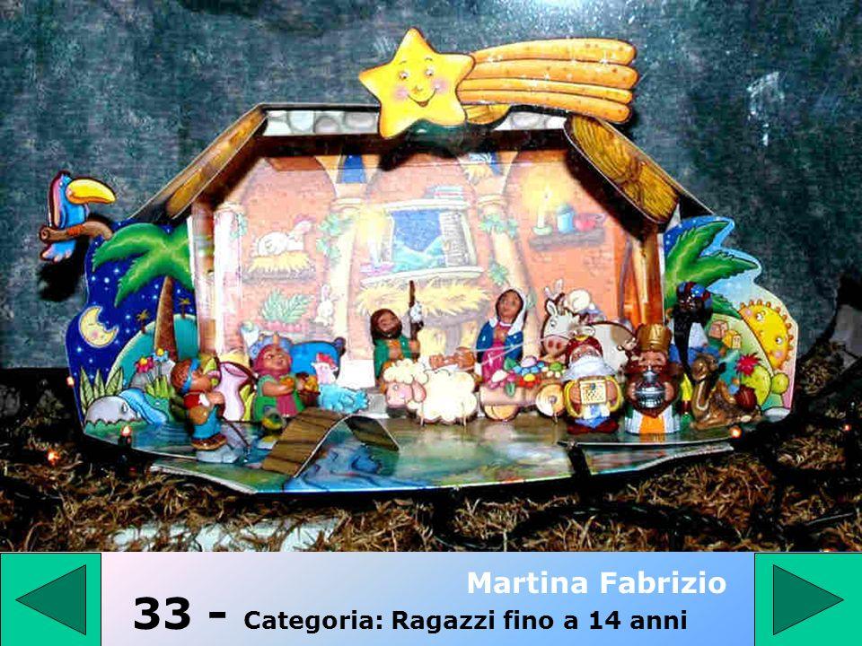 32 - Categoria: PRESEPE TRADIZIONALE Nini R. – Esposito M.