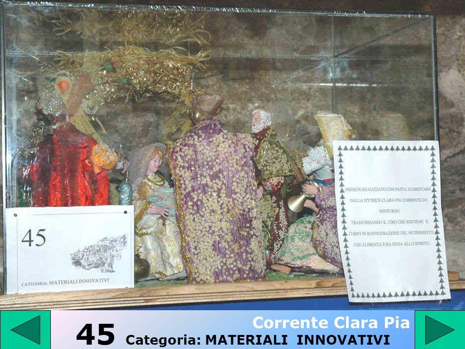 44 - Categoria: PRESEPE TRADIZIONALE Iannelli