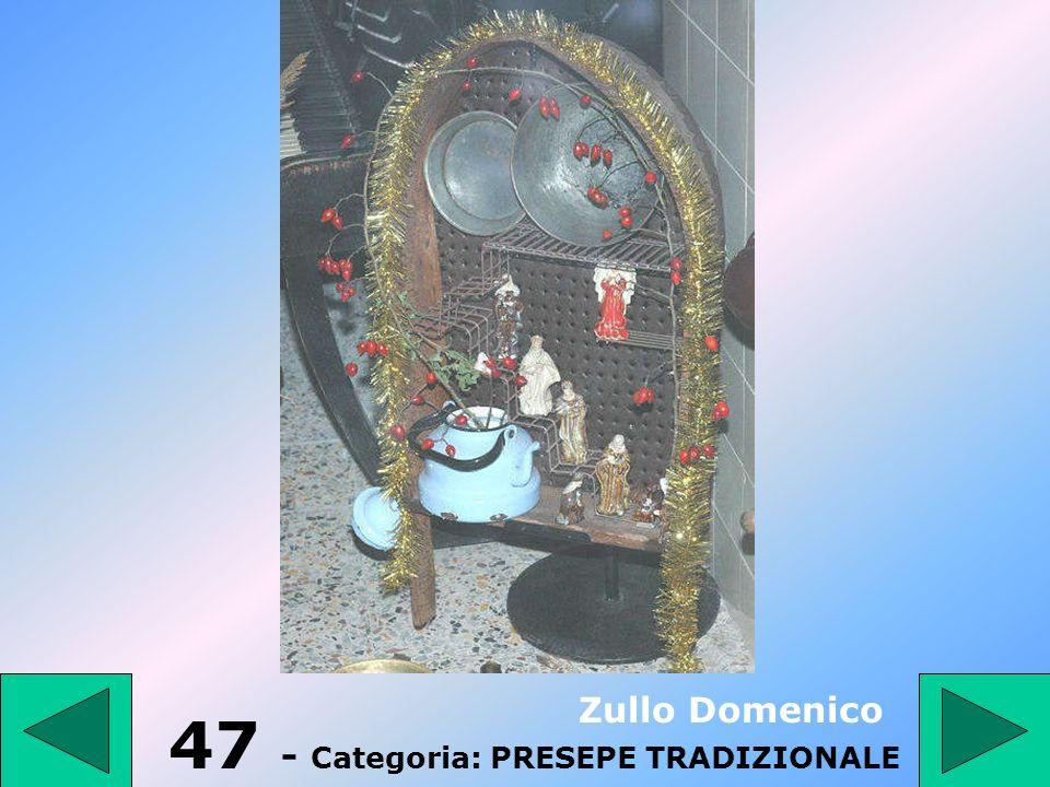 46 - Categoria: PRESEPE TRADIZIONALE Formichelli Tonino